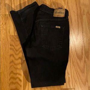 Levi Strauss signature stretch boot cut in black